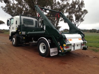 Equipos de cadenas CAYVOL entregados en Australia